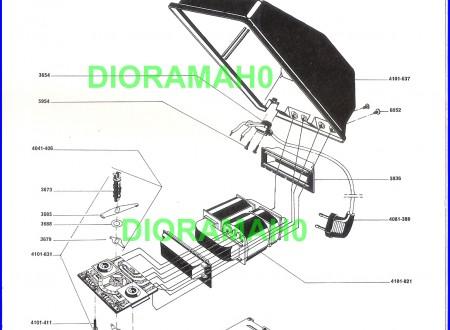 Catalogo parti di ricambio LIMA model 1973-74 scala H0 1/87 (2° PARTE)